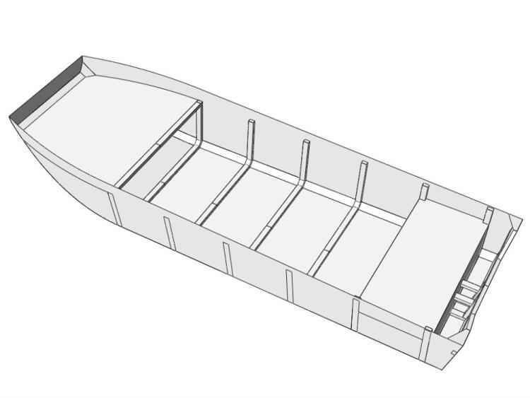 лодка болотоход из фанеры