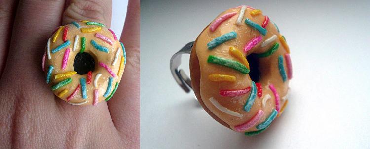 Колечки пончики фото
