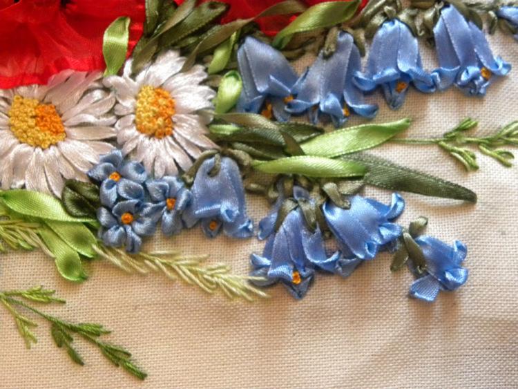Вышивка лентами для начинающих пошагово светлана герасимова
