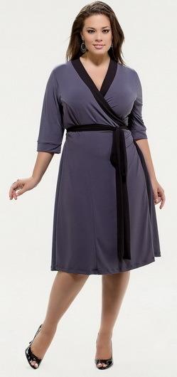 Платье халат для полных женщин