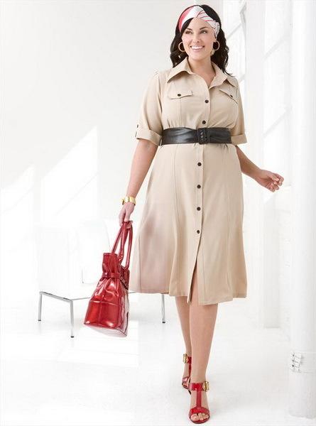 Повседневные платья для женщин за 50 лет