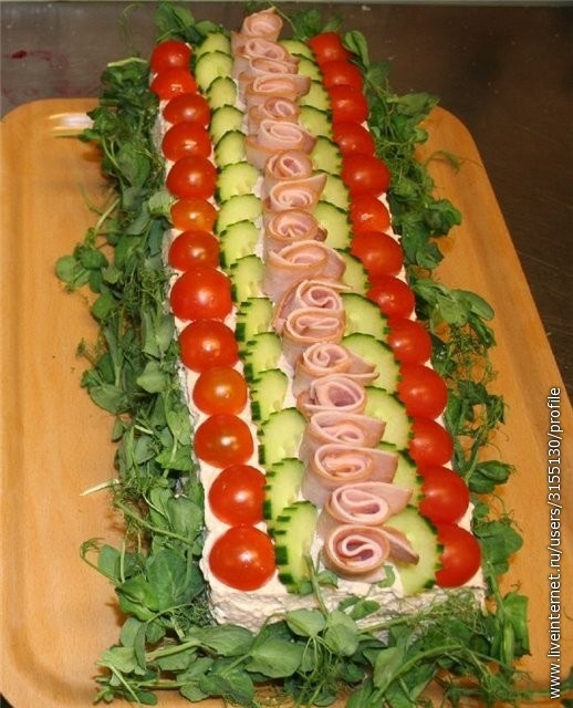 Украшение домашних блюд с фото