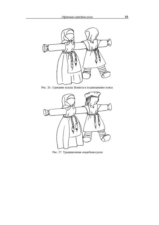 Выкройки тряпичной куклы-обереги своими руками5