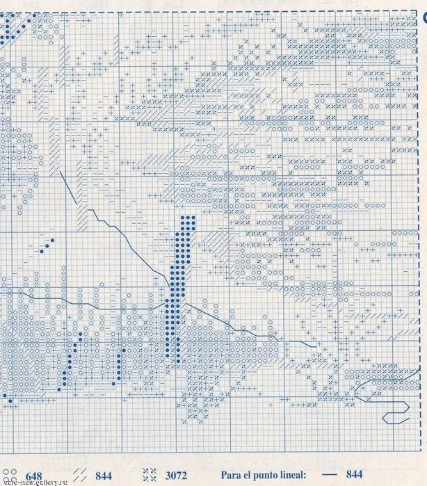 Схемы монохромных пейзажей