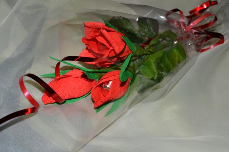 Подарок для учителя из лент 315