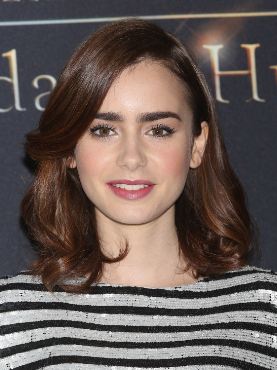 Lily collins hair in mortal instruments
