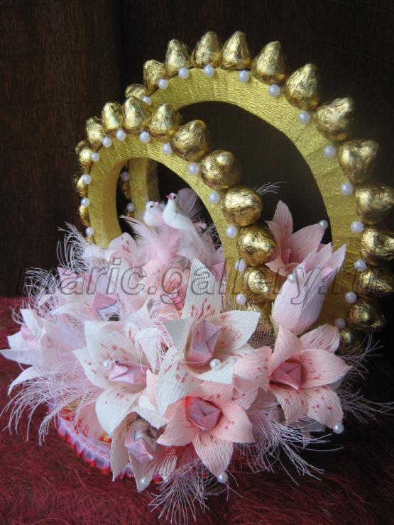 Букеты из конфет своими руками мастер класс на свадьбу
