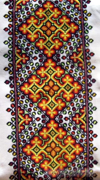 Вышивка еврейский орнамент 15