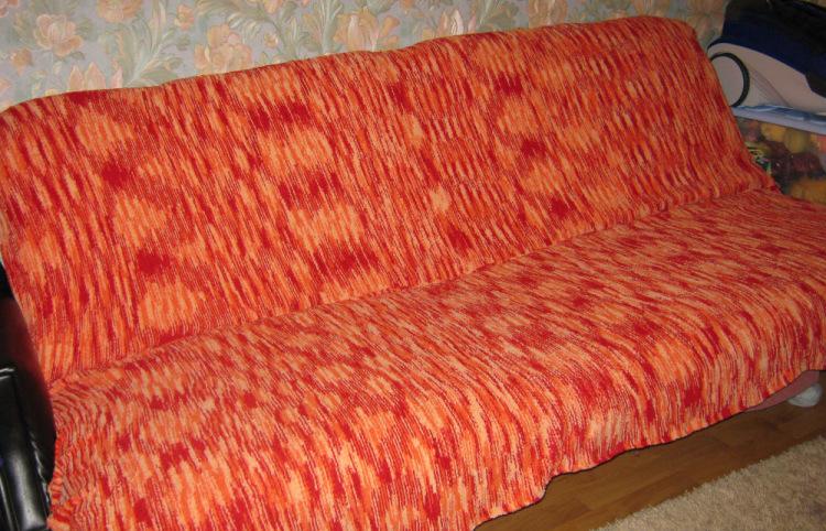 Вязание крючком покрывало на угловой диван 44