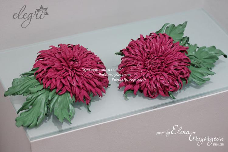 Как делать цветы из кожи мастер класс - ПРОСПЕКТ