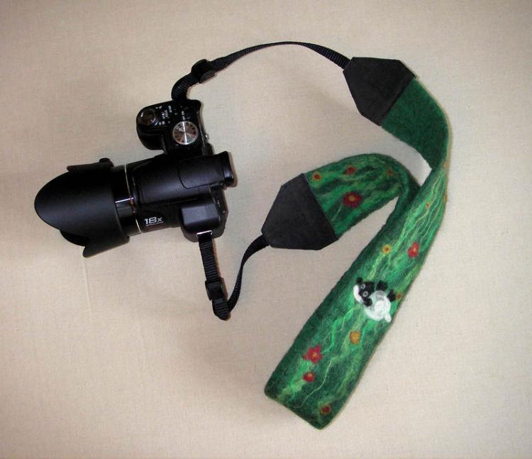 Ремешок для фотоаппарата на шею своими руками 69