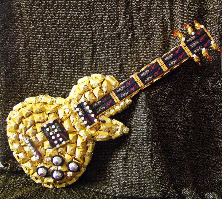 Сделать гитару своими руками сувенир 52