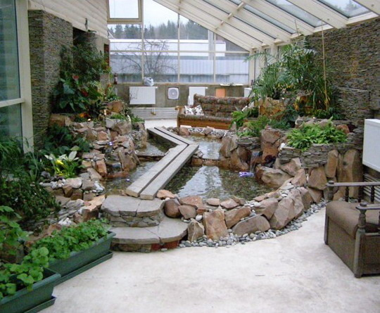 Зимний сад своими руками на участке 1