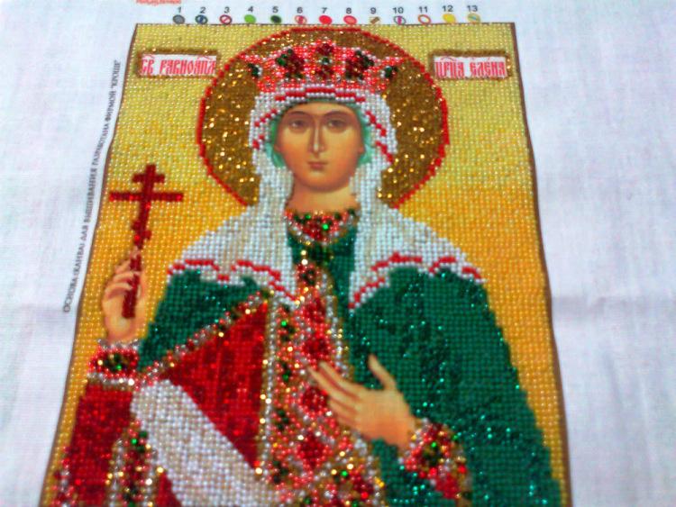 Наборы вышивки ювелирным бисером иконы 113