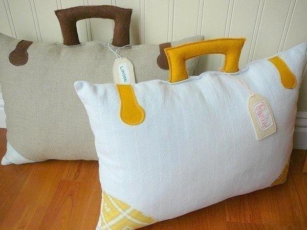 Диванные подушки сшить фото