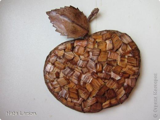 Поделки из древесных стружек