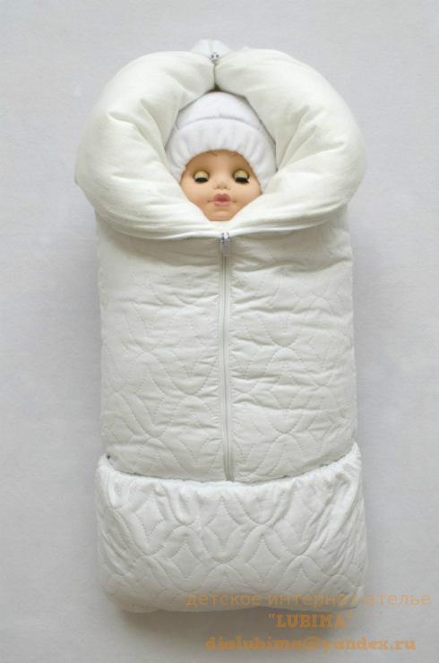 Конверт для новорожденного трансформер зимний своими руками 47