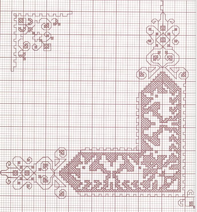 Ассизи схемы вышивки 48