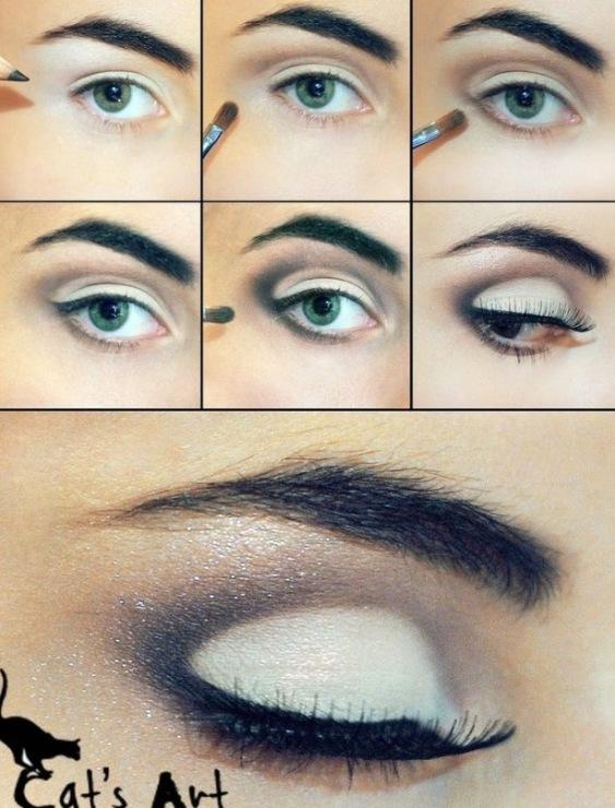 Как сделать простой макияж для зеленых глаз