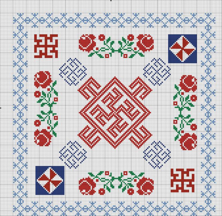 Славянский узор вышивка оберег