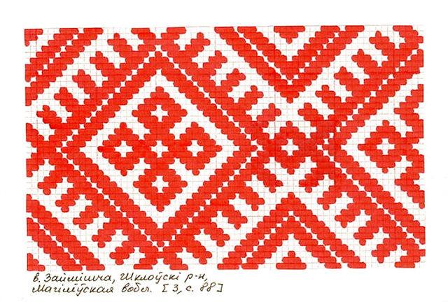 Белорусская и русская вышивка