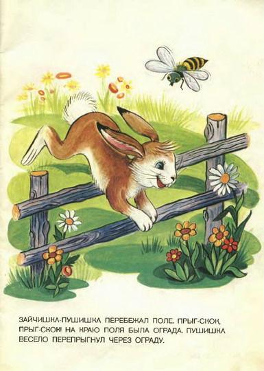 приключения зайчишки пушишки читать куриной печени