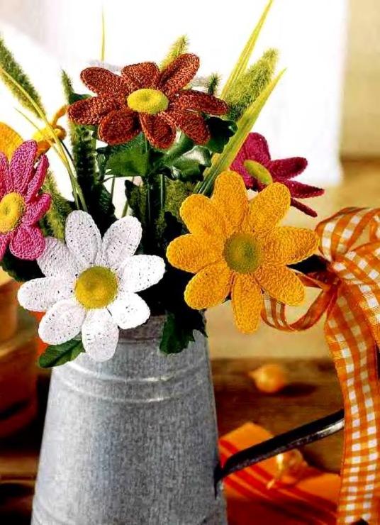 Вяжем цветок своими руками 866