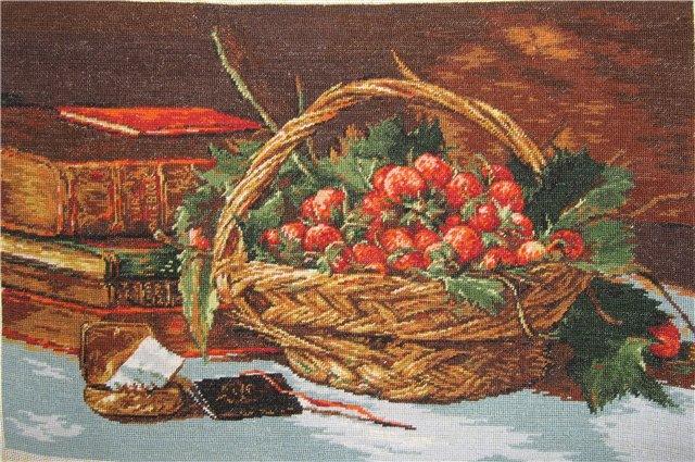 Вышивка румынский гобелен 84
